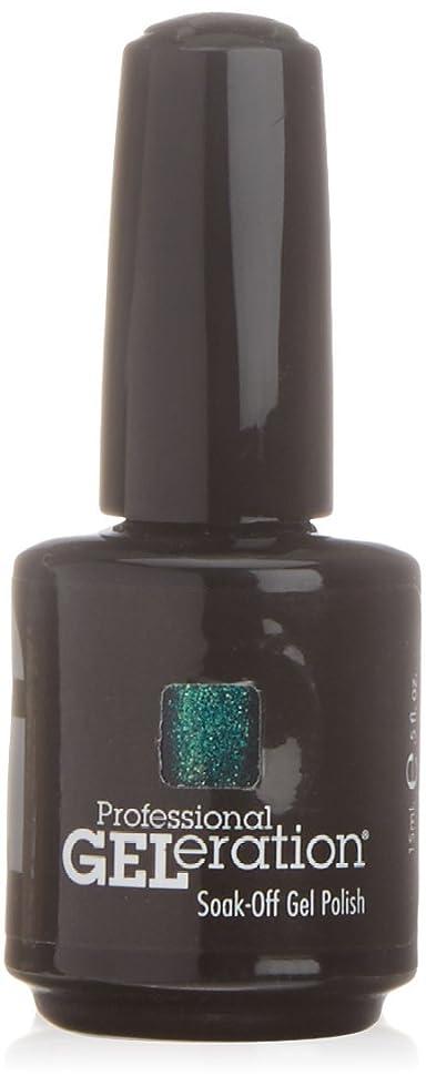 頼るこどもの宮殿動脈ジェレレーションカラー GELERATION COLOURS 971 G パシフィックパラダイス 15ml UV/LED対応 ソークオフジェル