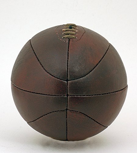 Best Price British Sports Museum Vintage Buffalo Leather Full Size Basketball Retro Style Hand Stitc...