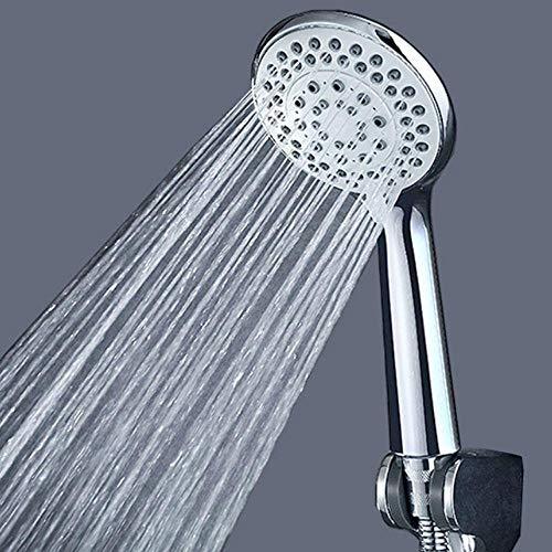 GRAYSONGMS 1 Stück Druckdüse Duschkopf ABS Badezimmer Zubehör Hochdruck Wassersparend Regendusche Chrom Duschkopf