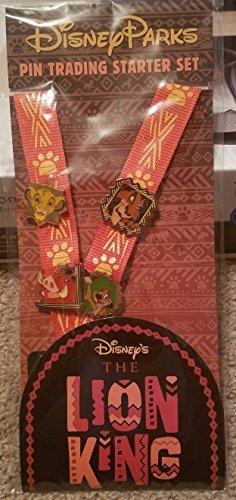 Disney Parks Lion King Pin Trading Starter Set