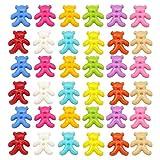 KESYOO 300 Stück Plastikknöpfe Tragen 2 Loch Babyknopf Nähen DIY Bastelknopf zum Nähen von Kleidung Schuhe Und Hüte