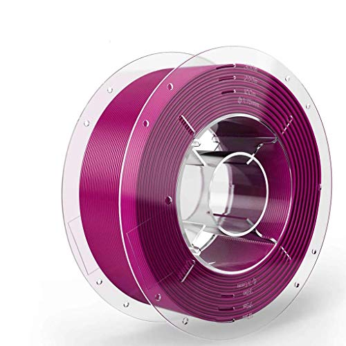 SainSmart - 4897093840639 PRO-3 Tangle-Free Premium 1.75mm PETG 3D Printer Filament, Purple PETG, 2.2 LBS (1KG) Spool, Dimensional Accuracy +/- 0.02mm