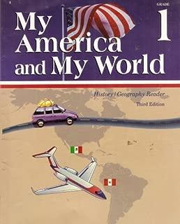 My America and My World: Grade 1 History/Geography Reader. A Beka Book.