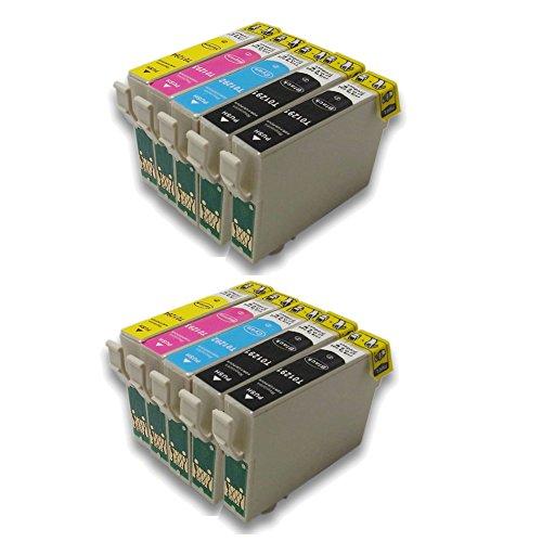 10 (4N+2C+2M+2G) Cartucce compatibili T1291 T1292 T1293 T1294 Con Chip per Stampante EPSON Stylus Office B42WD BX305F BX305FW BX305FW Plus BX320FW BX525WD BX535WD BX625FWD BX630FW BX635FWD BX925FWD BX935FWD Stylus SX235W SX420W SX425W SX435W SX445W SX525WD SX535WD SX620FW WorkForce WF-7015 WF-7515 WF-7525