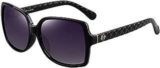 Classic Women Polarized Sunglasses PARZIN Oversized Square Fashion Glasses PZ-9515