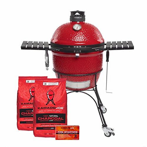KamadoJoe Grills - Classic II Grill + 2X Charcoal + Firestarter