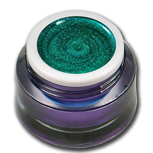 RM Beautynails Premium UV Glit tergel Summer Night Green Vert 5 ml gel uv Gels professionnel pigments pas absenken la très grande opacité
