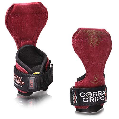 コブラグリップス(Cobra Grips) レザータイプ (男性用, レッド)