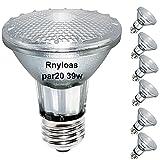 PAR20 Halogen Light Bulbs, 6PCS PAR20 Flood...