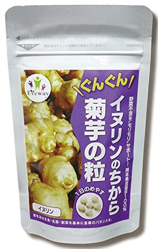 のガイドライン広告Eveway(エヴァウェイ) イヌリンのちから 菊芋の粒 180粒
