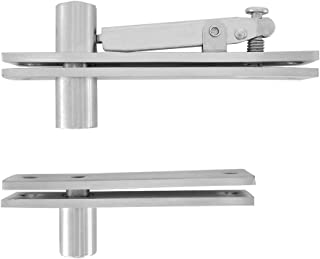 Pivot Door Hinge Alamic Heavy Duty 304 Stainless Steel Pivot Hinge for Wood Doors 360 Degree Shaft Stainless Steel Murphy Door Pivot Hinge System