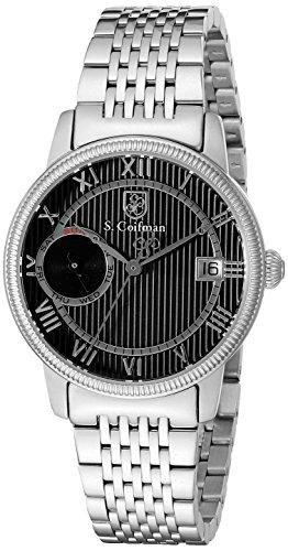 S.Coifman SC0337 Orologio da Polso, Display Analogico, Donna, Bracciale Acciaio Inox, Argento