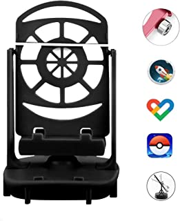 Orzero Steps Counter Accessories Compatible for Pokemon Go Cellphone Pedometer, (USB Cable) (Easy Installation) (Mute Version) (Support 2 Phones) Quick Steps Earning Device- Black