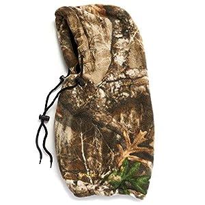 HOT SHOT Men's Camo Challenger 4-in-1 Hood – Realtree Edge Hunting Facemask/Balaclava/Gaiter