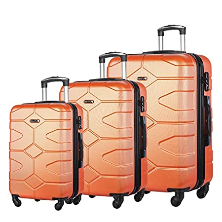 3 piece luggage set great gift for traveller present for graduation college