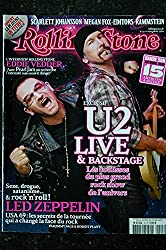 ROLLING STONE 15 NOVEMBRE 2009 COVER U2 LED ZEPPELIN EDDIE VEDDER
