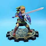 NAMFSR La leyenda de Zelda Sky Sword Position Position Position Linker's Four Swords 18cm Material PVC Material de PVC Anime Figura Figura Modelo Decoración Juguete Computadora Decoración de escritori