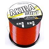 Asari - Akira Surf 3000, Color Transparente, Talla 0.180 mm