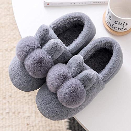 Ginsenget Zapatillas microondas,Zapatos de Mujer con Guisantes ...