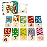 Goula Puzzle infantil para contar del 1 al 10 , color/modelo surtido