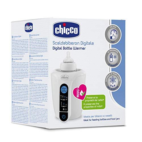 Chicco - Calienta Biberón Digital con 12 Programas y...