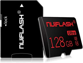 Micro SD Card 128GB with Adapter, Class 10 High Speed TF...