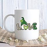 N\A St. Patrick & rsquo; s Day GNOME Taza-Tarjetas Regalo de la Taza Set-Regalo Taza de la Mujer por el Hombre Taza Conjunto de Regalo Divertido búho-Mu