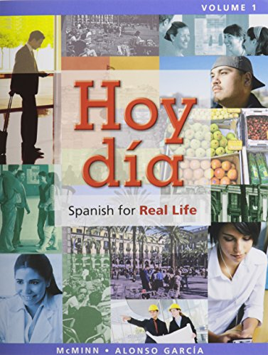 Hoy día: Spanish for Real Life, Volume 1 @ MyLab Spanish with Pearson eText -- Access Card Vols 1 & 2 (one semester acce
