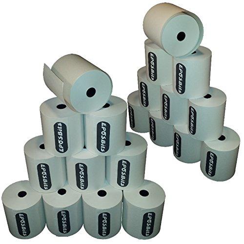 EPOSBITS® - Rollos de recibos para impresora Samsung Bixolon SRP-275C SRP275C SRP275 SRP-275 EPOS (20 rollos)