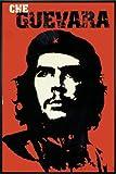 Close Up Che Guevara Poster (93x62 cm) gerahmt in: Rahmen