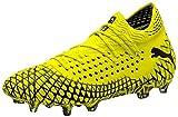 Puma Men's Future 4.1 Netfit FG/AG Men's Soccer Cleats, 11.0 M, Yellow Alert-Puma Black
