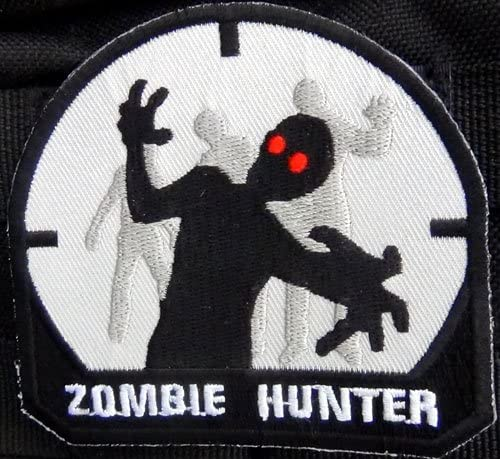 Zombie Hunter Mail Reservation order black tactical patch