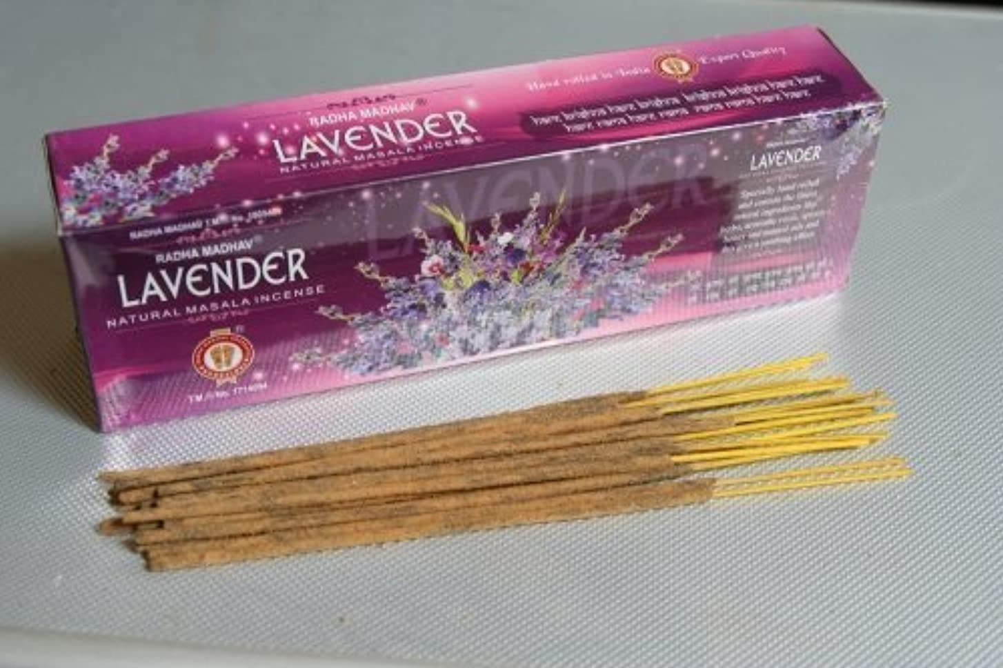 僕の節約高架Lavender Incense - (100 Gram Pack)
