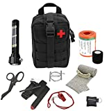 Advanced Military Style First Aid Survival Kit Emergency Kit Earthquake Survival Kit IFAK Molle Bag...