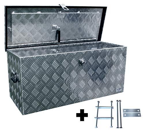 Preisvergleich Produktbild Truckbox D120 + MON 2012 Montagesatz,  Werkzeugkasten,  Deichselbox,  Transportbox