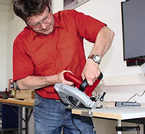 Einhell Handkreissäge TC-CS 1400 (1400 W, max. 66 mm, Sägeblatt Ø 190, 24 Zähne, Softstart, Parallelanschlag) - 3