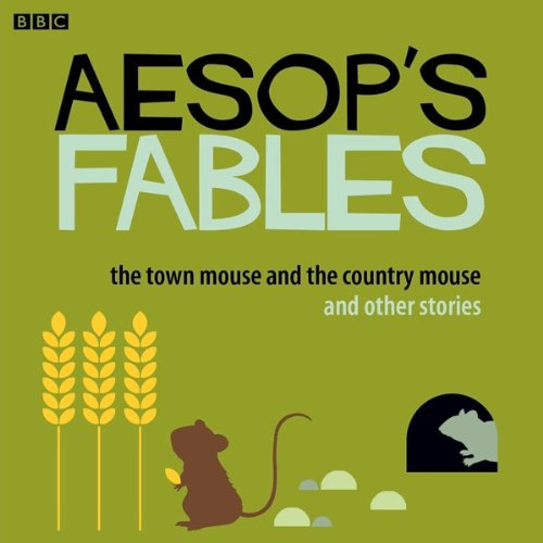 Aesop: The Town Mouse and the Country Mouse and Other Stories audiobook cover art