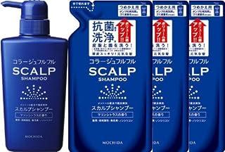 コラージュフルフル スカルプシャンプー(マリンシトラスの香り) ポンプ+つめかえ3個セット【医薬部外品】