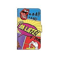 [bodenbaum] Galaxy S21 Ultra 5G SC-52B 手帳型 スマホケース カード スマホ ケース カバー ケータイ 携帯 SAMSUNG サムスン ギャラクシー エストゥエンティワン ウルトラ ファイブジー docomo アメコミ 吹き出し a-300 (D)