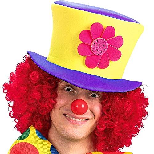 Cappello Pagliaccio - Clown - Saltinbanco - Costume - Travestimento - Carnevale - Halloween - Cosplay - Accessori - Uomo - Donna - Bambini - idea regalo originale natale compleanno - Modello 3