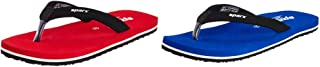 Sparx Women's Red & Blue - Flip-Flops and House Slippers - 6 UK