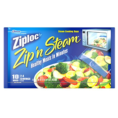 Ziploc Zip n Steam Microwaveable Bags