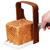 Cortador de pan, herramienta para hornear, rebanador de pan plegable, rebanador de pan, rebanador de pan para cortar pan...