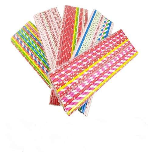 rethyrel Paper Stick-35CM / 40CM Bunte Candy Cotton Lollipop Paper Sticks