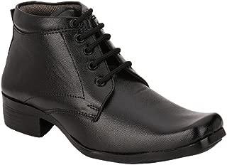 SHOE DAY Men's Faux Leather BLK Formal Shoes 8 UK