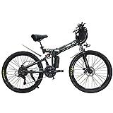 Hyuhome Ebikes für Erwachsene, zusammenklappbares E-Bike, Mountainbike, Dirtbike, 73,7 cm, 48 V, 10...