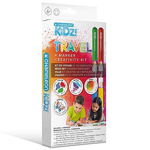 Chameleon Kidz Starter 4 Marker Creativity Kit