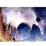 Puzzle 1000 piezas Fotos de space planet moon en Juguetes y juegos Gran ocio vacacional, juegos interactivos familiares50x75cm(20x30inch)