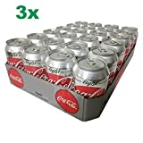 Coca Cola Light XXL-Paket Coke light (72x0,33l Dosen)