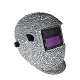 Accesorios de soldadura Automático ENCENDIDO APAGADO Casco de soldadura Auto oscurecimiento Máscara de soldadura Soldadora solar Máscara Auto-oscurecimiento Soldadura Casco ARC TIG MIG Kit de soldador